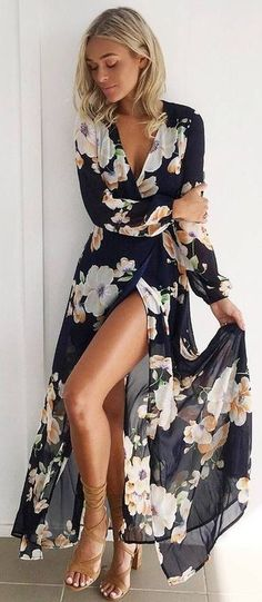 2017 Spring and Summer Dress Trends Lookbook 62