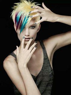 Fashionable Hair Colour Summer