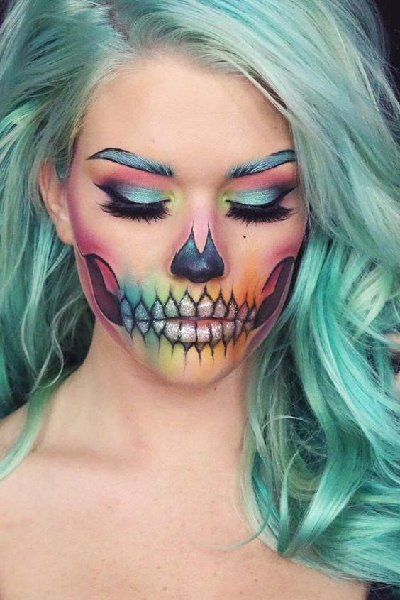 2017 Jaw Dropping Halloween Makeup Ideas Fashion Trend