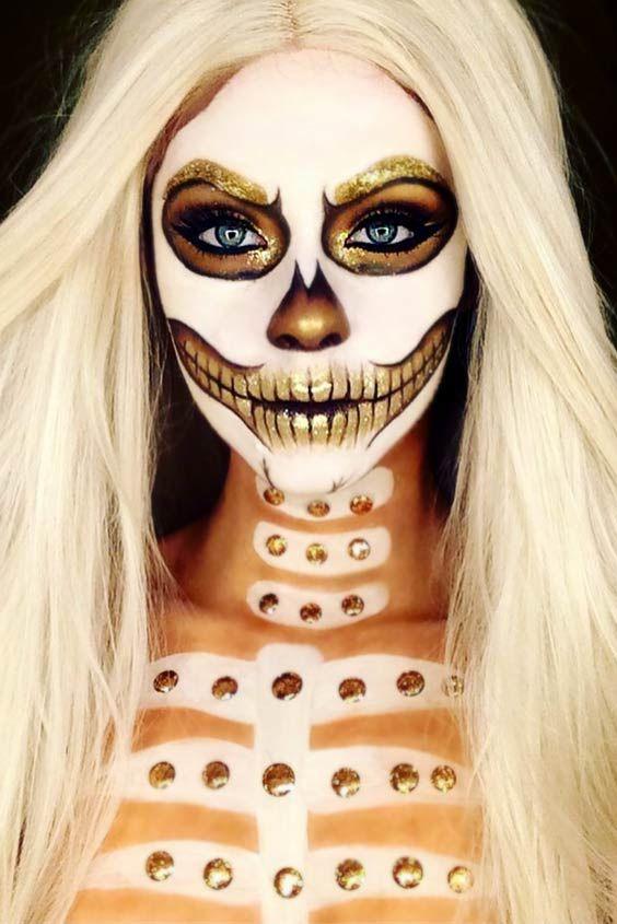 15 Jaw Dropping Halloween Makeup Ideas Crazyforus