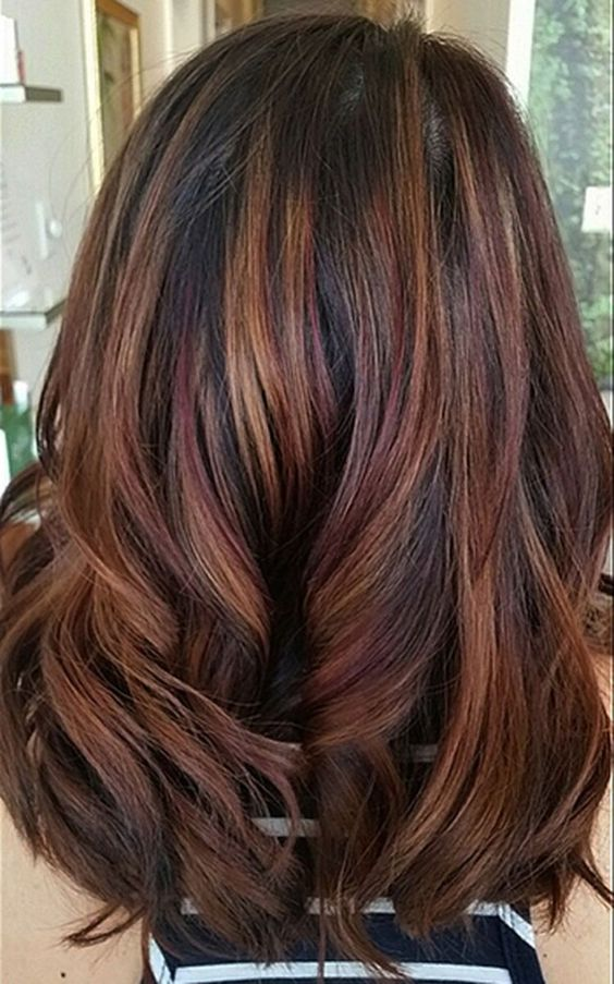 Best Fresh Hair Colour Ideas for Dark Hair forecast