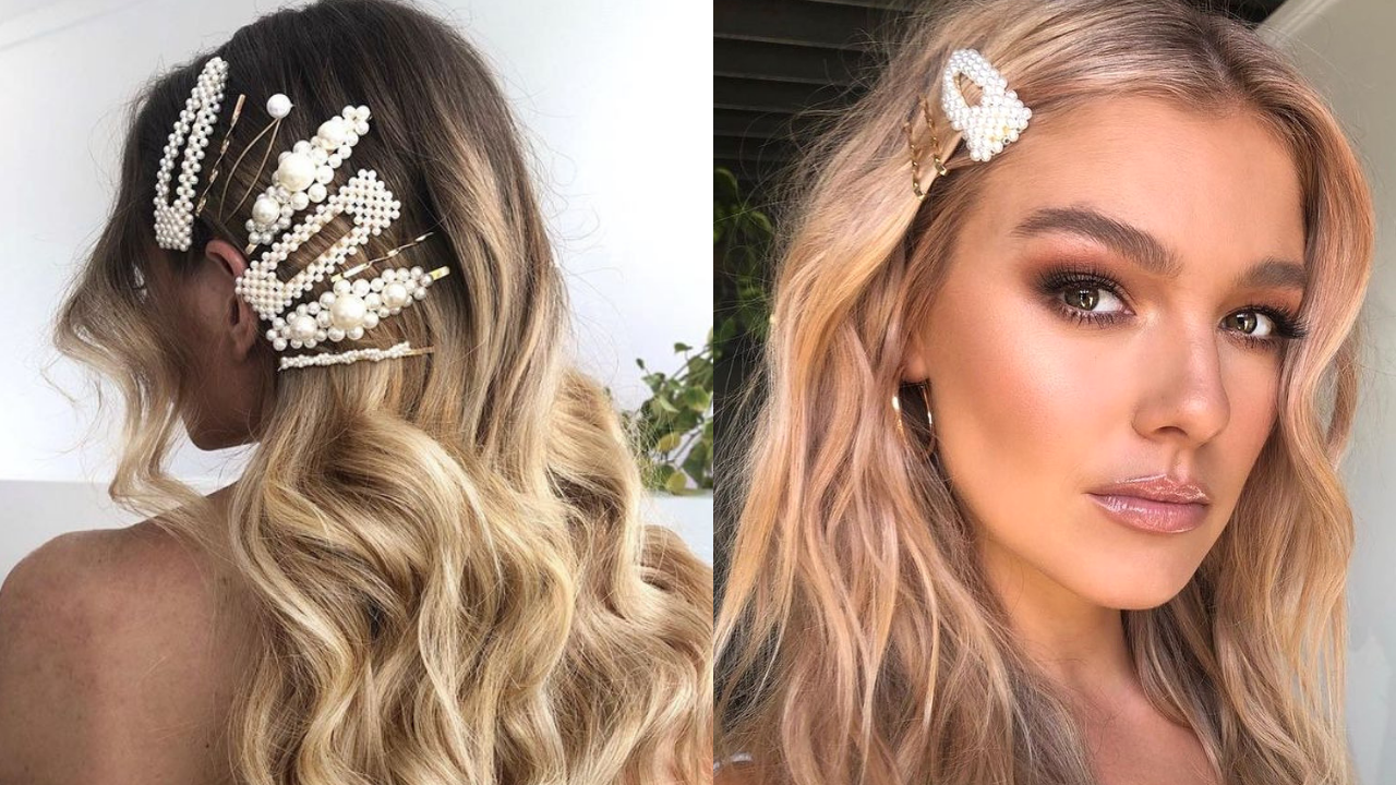 Fashion Trend Seeker: How To Rock Pearl Hair Clip Trend