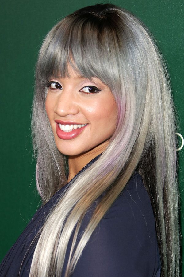 2015 Spring and Summer Hair Color Trends - Silver Hair 17