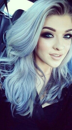 2015 Spring and Summer Hair Color Trends - Silver Hair 18