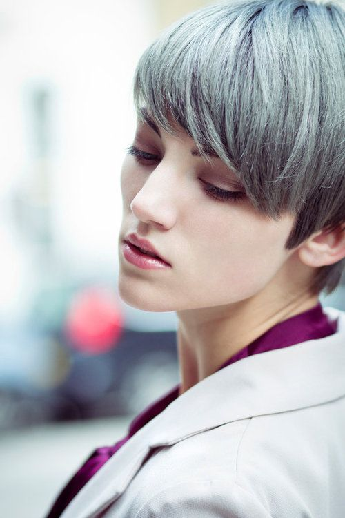 2015 Spring and Summer Hair Color Trends - Silver Hair 21