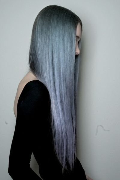 2015 Spring and Summer Hair Color Trends - Silver Hair 22